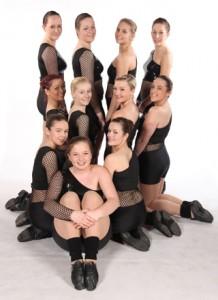 Exeter Jazz Dance School Street/Jazz freestyle dancers from Joanna Mardon School of Dance