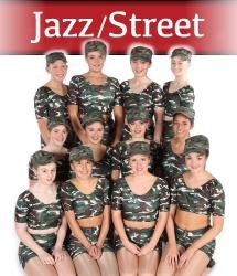 Exeter Jazz street dance classes at Joanna Mardon School of Dance