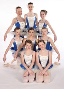 Exeter Ballet School Senior girls at Joanna Mardon School of Dance