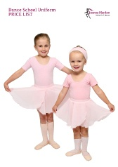 Exeter Ballet Classes uniform price list 2013/14 for Joanna Mardon School of Dance