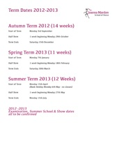 Download Joanna Marson School of Dance term dates 2012-2013 pdf
