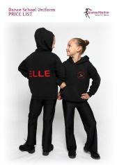 Joanna Mardon School of Dance Uniform Price List 2012