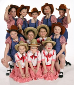 Joanna Mardon Love to Dance Show 2012 Primary Tap Dancers