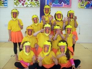 Masked Lion's at Joanna Mardon's School of Dance 2012 Summer School, Exeter