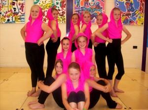 Street dancing at Joanna Mardon's School of Dance 2012 Summer School, Exeter