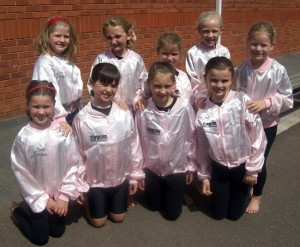 The Pink Ladies at Joanna Mardon's School of Dance 2012 Summer School, Exeter