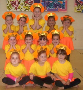 Rays of sunshine at Joanna Mardon's School of Dance 2012 Summer School, Exeter
