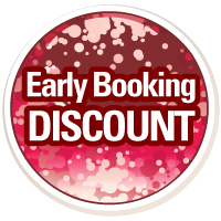 Book early (by October half term) and pay only £20