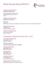 Download your Joanna Mardon School of Dance Dates for you Diary 2012/2013 as a pdf