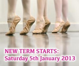 Joanna Mardon School of Dance, Exeter - New term starts on Saturday 5th January 2013