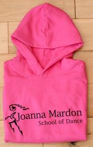 Pink Joanna Mardon School of Dance, Exeter sweatshirt