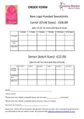 Joanna Mardon School Of Dance Exeter Hooded Sweatshirt Order Form Pdf
