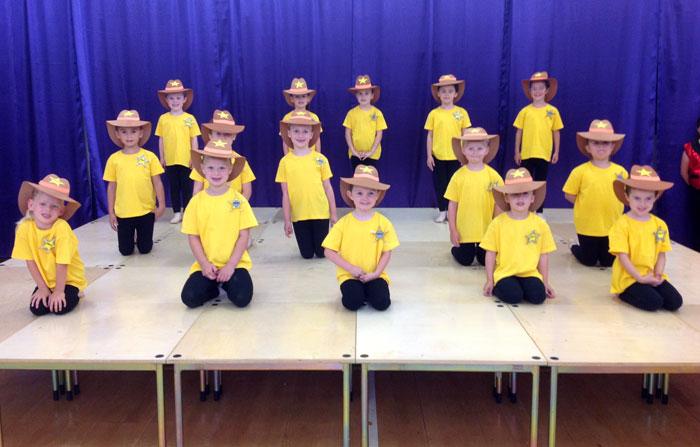 Joanna Mardon Summer School 2013 Toy Story performance