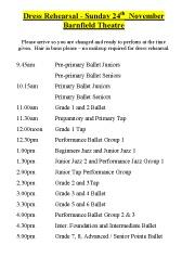 Joanna Mardon School of Dance - Strictly Dance Dress Rehearsal 24th November 2013 pdf download