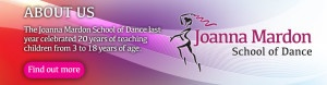 Exeter Ballet classes about Joanna Mardon School of Dance