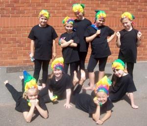 Exeter Dance Class Summer School headgear dance