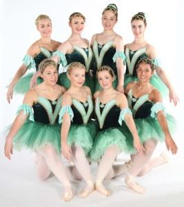 Exeter Ballet dance class senior students from Joanna Mardon School of Dance