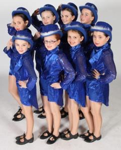 Exeter Tap Dance school junior pupils from Joanna Mardon School of Dance