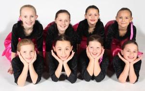 Exeter Tap Dance School pupils from Joanna Mardon School of Dance