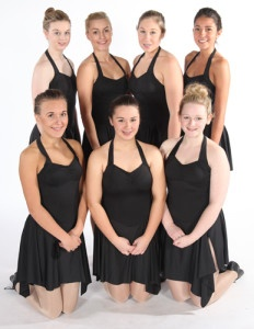 Exeter Tap Dance Classes senior students from Joanna Mardon School of Dance