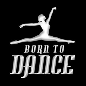 Joanna Mardon School of Dance Born to Dance 2015 logo shadow