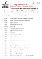 Dress Rehearsal Show 2015 Joanna Mardon School of Dance pdf download