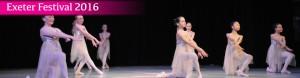 Exeter Festival 2016 Joanna Mardon School of Dance Students header