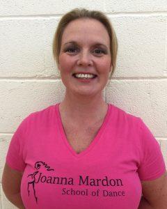 Charmaine Tyner Exeter Ballet teacher at Joanna Mardon School of Dance