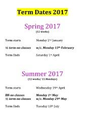 Joanna Mardon School of Dance term dates & exam plan 2017 pdf download