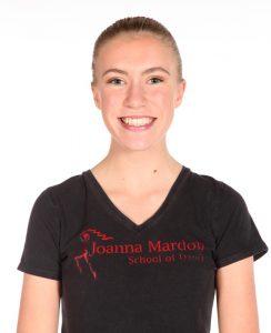 Alice Friday – Tap Assistant at Joanna Mardon School of Dance, Exeter, Devon