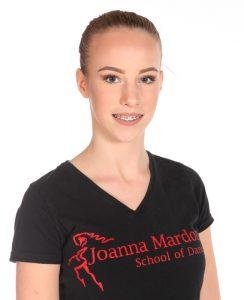 Katie Barriball – Junior Freestyle Jazz Assistant at Joanna Mardon School of Dance, Exeter, Devon