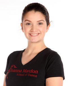 Lotte Hartmann – Junior Freestyle Jazz Assistant at Joanna Mardon School of Dance, Exeter, Devon