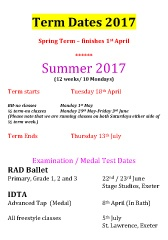 Joanna Mardon School of Dance Term dates 2017 updated 23/2/2017 pdf download