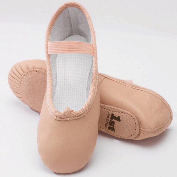 1st Position Ballet shoes-UK Sizing Joanna Mardon School of Dance