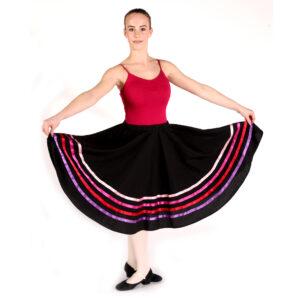 Ballet Grade 5 Uniform with Character Skirt Joanna Mardon School of Dance