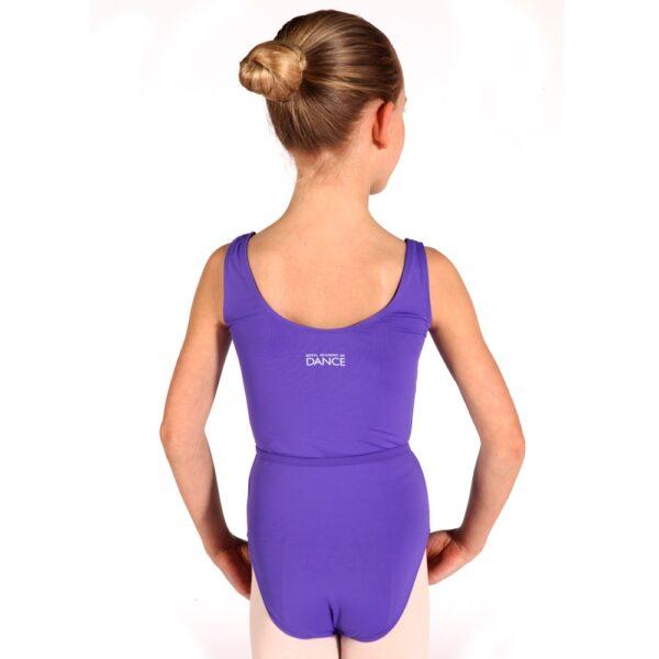 Ballet Grades 2-3 RAD Leotard back view Joanna Mardon School of Dance