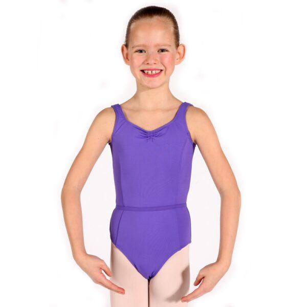 Ballet Grades 2-3 RAD Leotard front view Joanna Mardon School of Dance