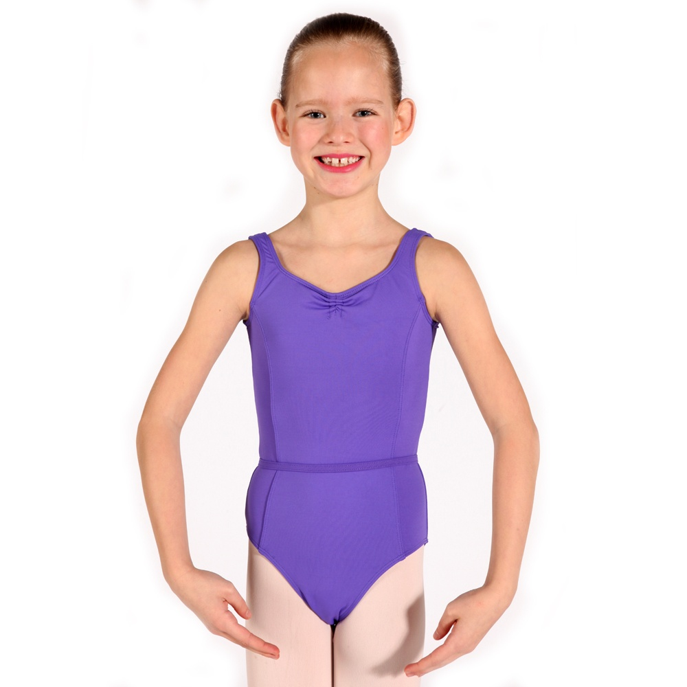 Ballet Grades 2-3 RAD Leotard front view Joanna Mardon School of Dance