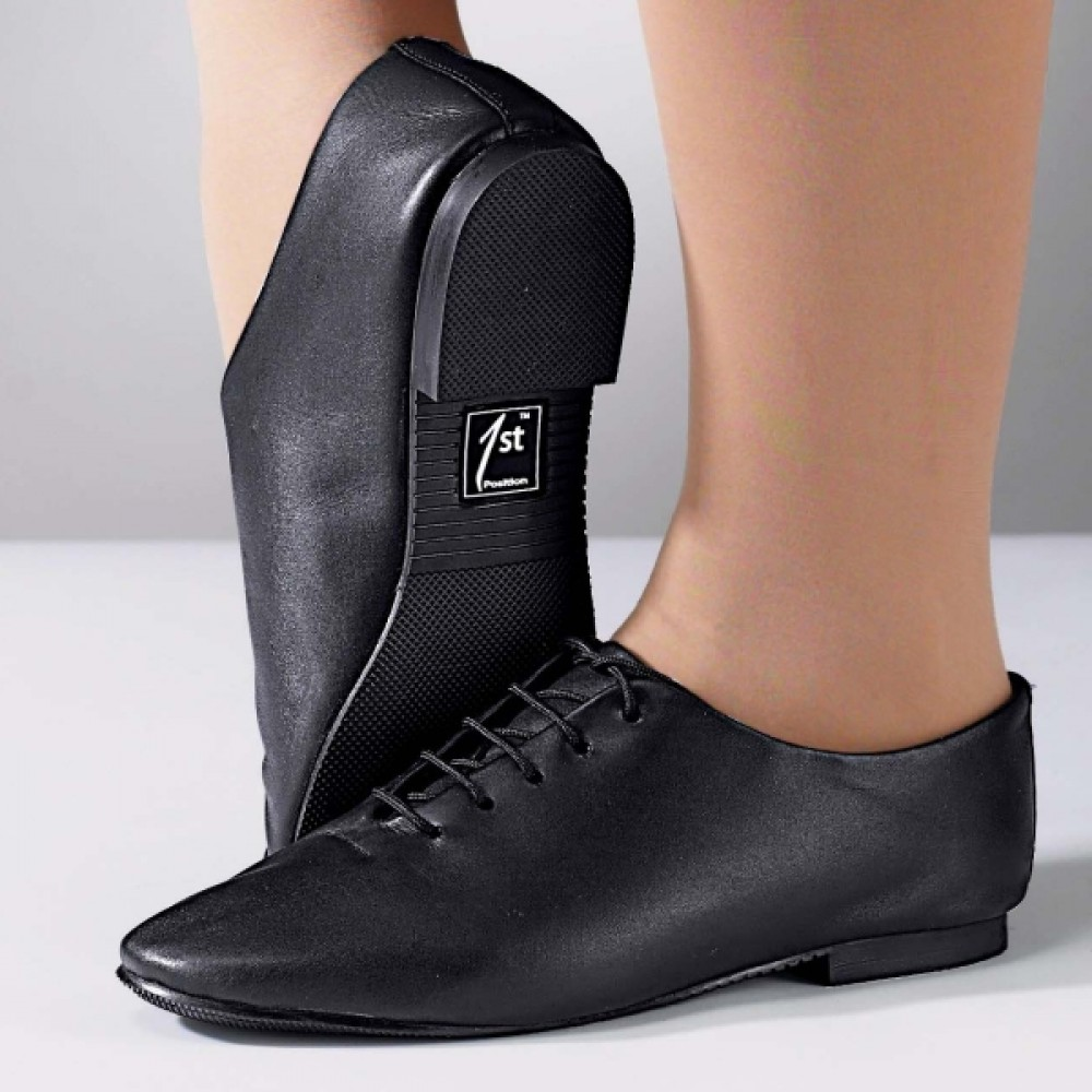 Leather Jazz Shoe Rubber Sole Joanna Mardon School of Dance