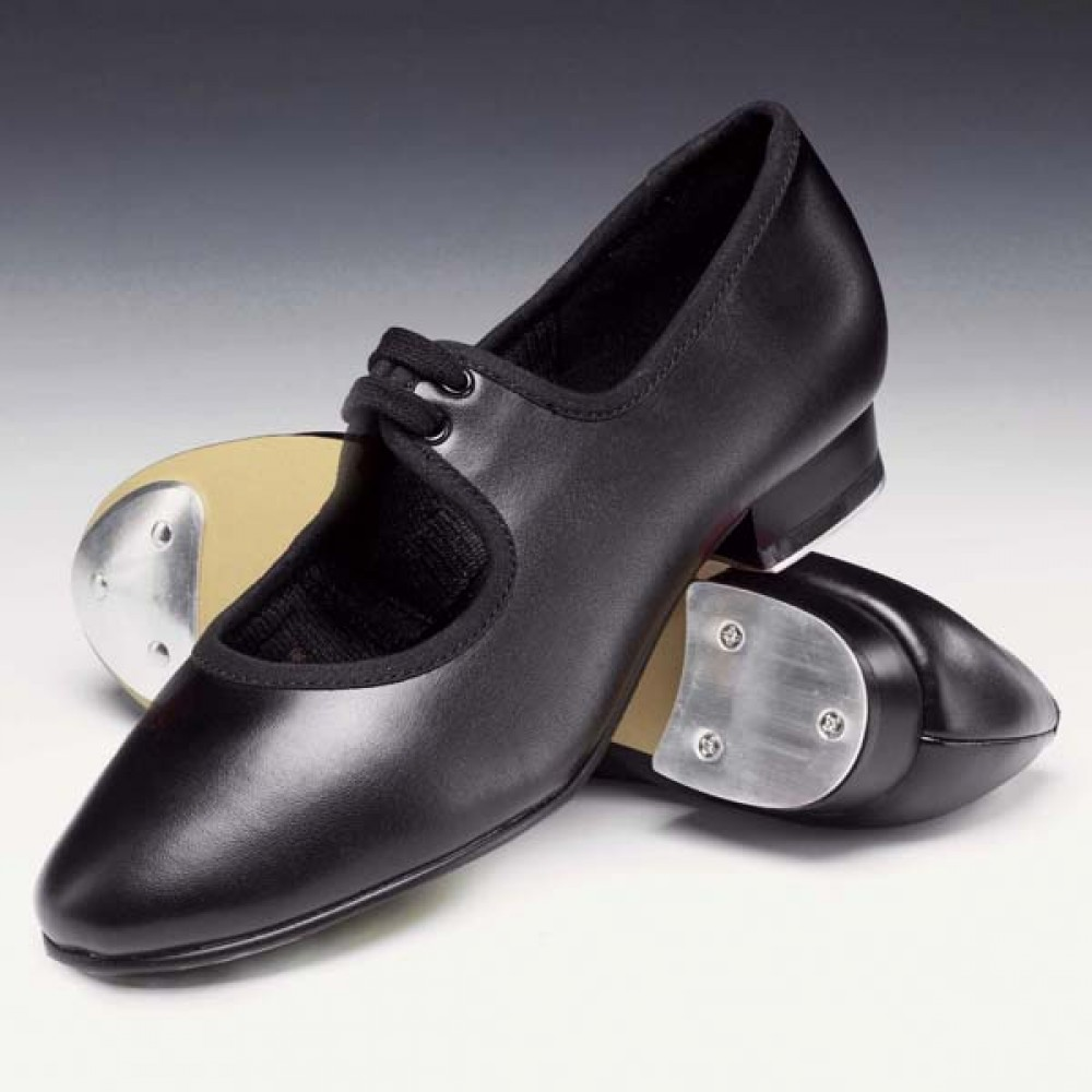 Low heel Tap shoe Heel and Toe Taps attached Joanna Mardon School of Dance
