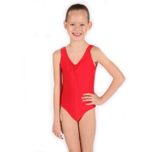 Red Leotard for Tap & Jazz Joanna Mardon School of Dance