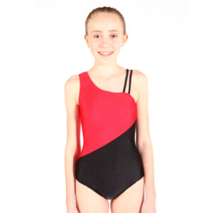 Tap Grades 3+ Leotard front view Joanna Mardon School of Dance
