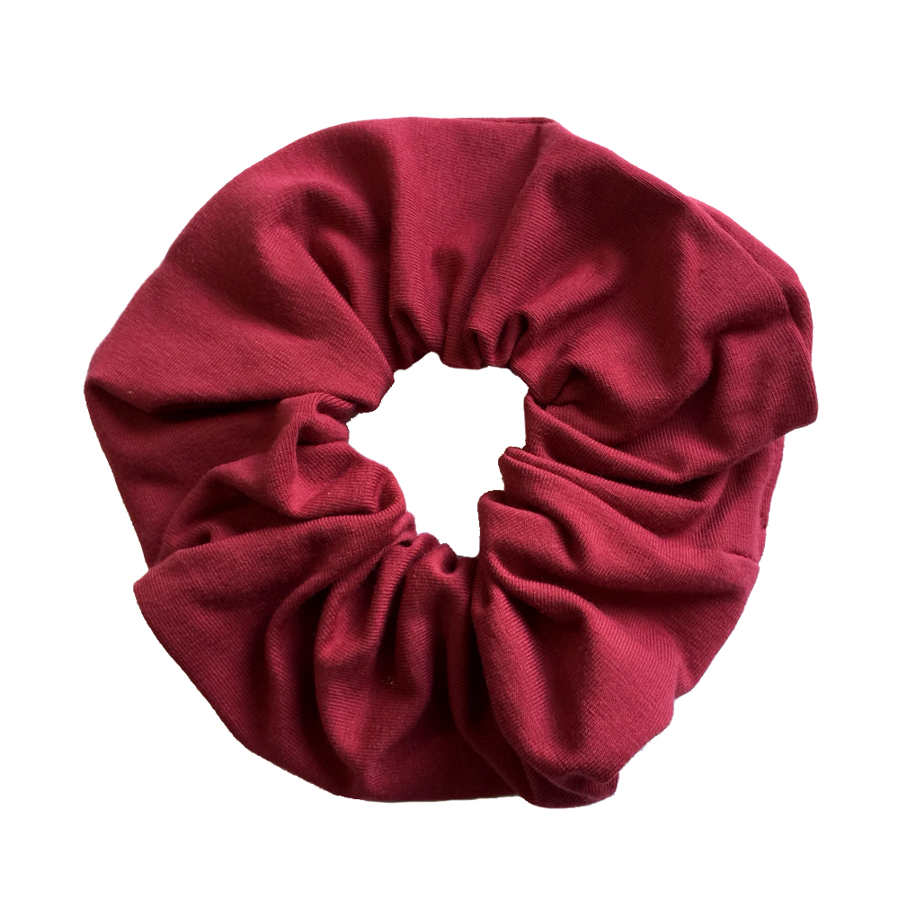 Burgundy Scrunchie for Ballet Grade 4 & 5 Joanna Mardon School of Dance