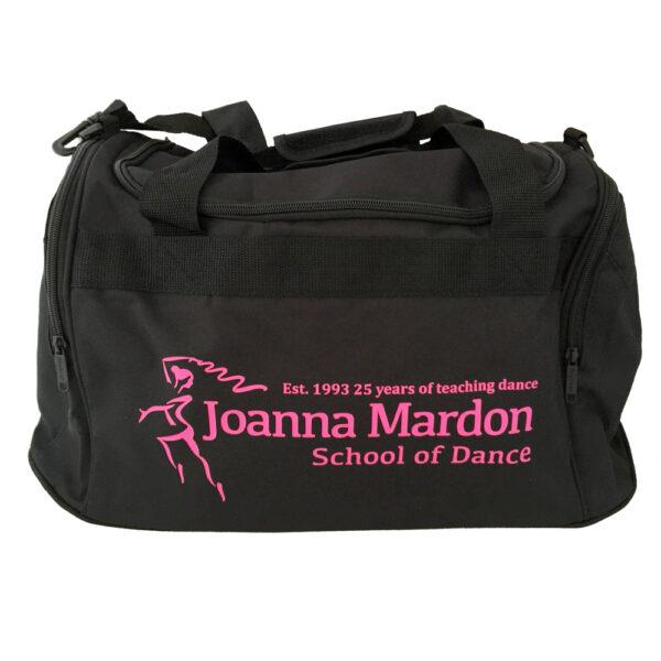 Large Holdall Joanna Mardon School of Dance logo Pink