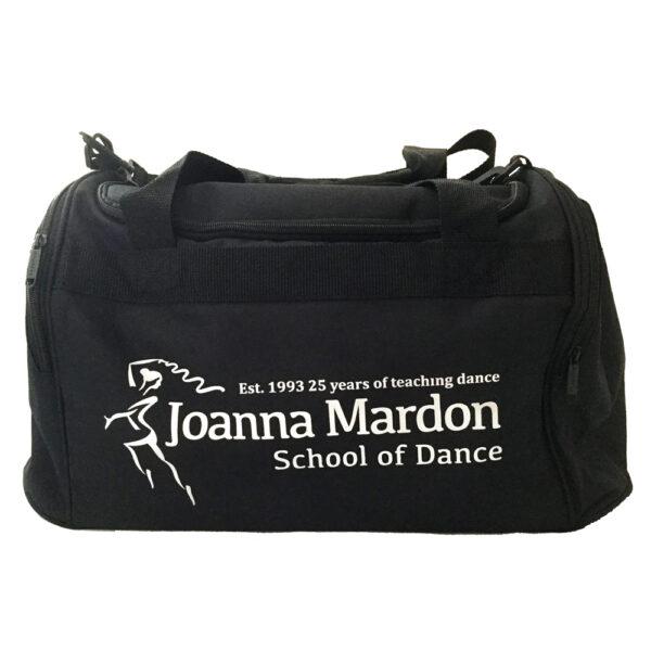 Large Holdall Joanna Mardon School of Dance logo Silver