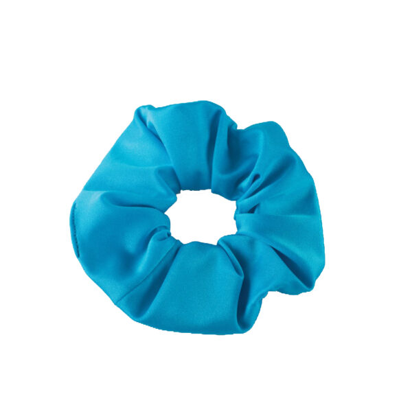 Turquoise 1st Position Scrunchie (Nylon Elastane) Joanna Mardon School of Dance