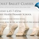 NEW ADULT BALLET