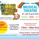 "SUMMER SCHOOL FUN – ""The Greatest Showman"" Theme"
