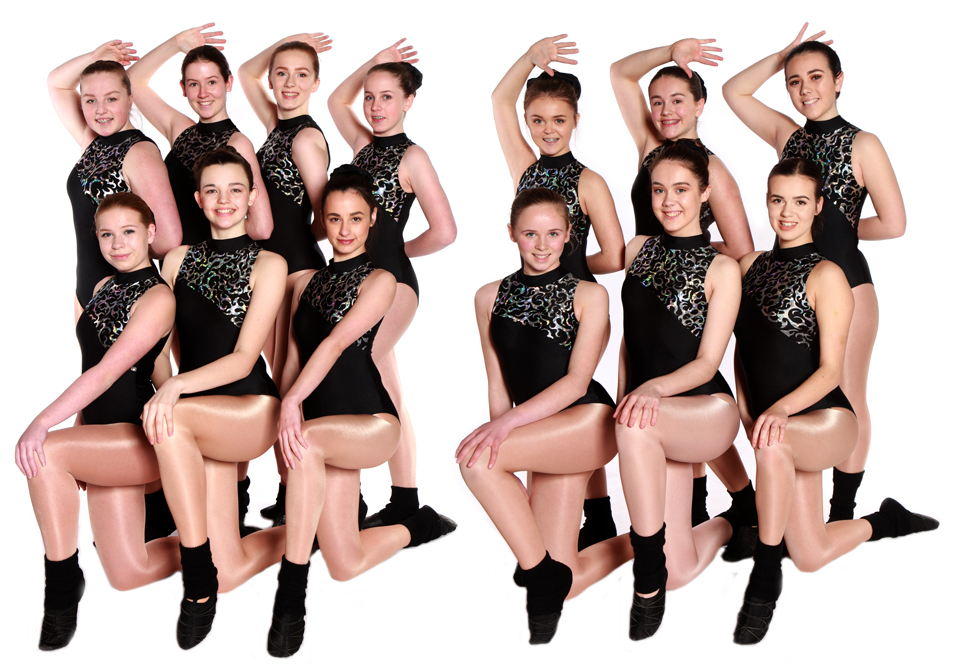 Joanna Mardon School of Dance Exeter Advanced Jazz 1 Students