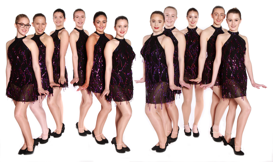 Joanna Mardon School of Dance Exeter Advanced Jazz 2 Students